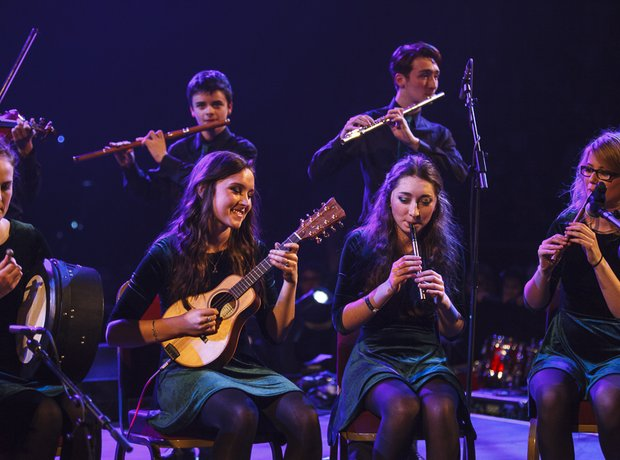 Belfast Royal Academy Irish Traditional Music Grou