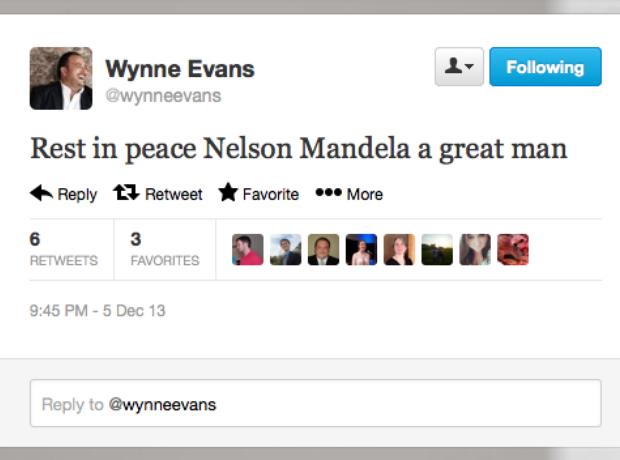 Nelson Mandela: the music world reacts
