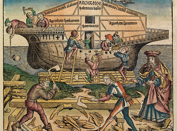 Noah flood Il diluvio universal Donizetti opera