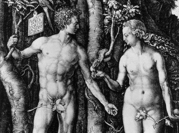 Old Testament Adam Eve Le Sueur La mort d'Adam