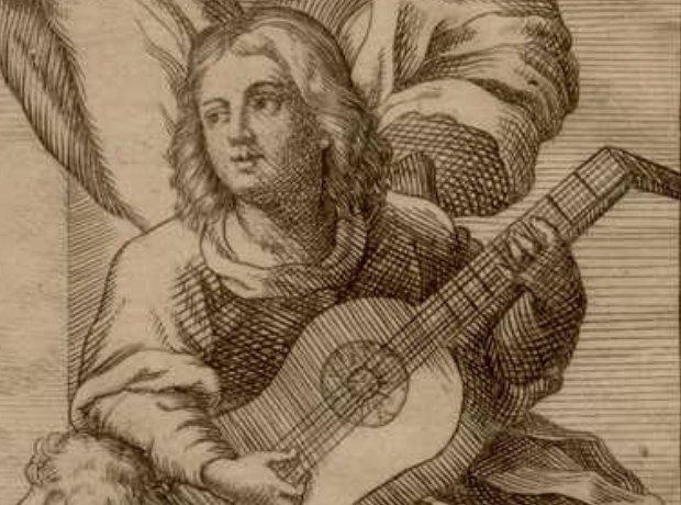 Guitarist Gaspar Sanz