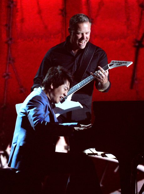 Lang Lang and Metallica at the Grammy Awards live