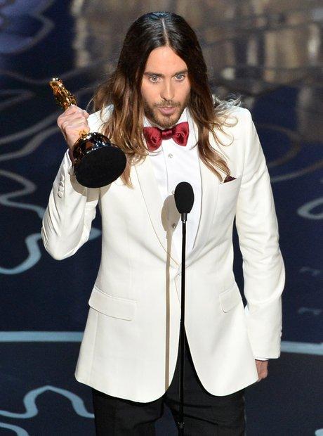 Jared Leto at the Oscars 2014 winner