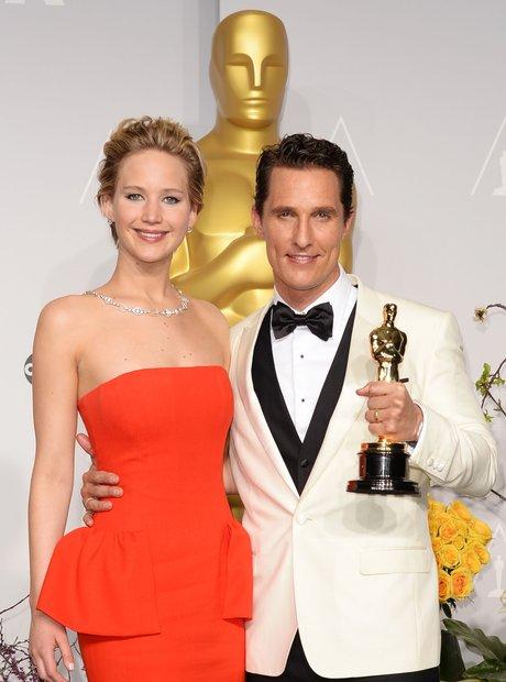 Jennifer Lawrence and Matthew McConaughey