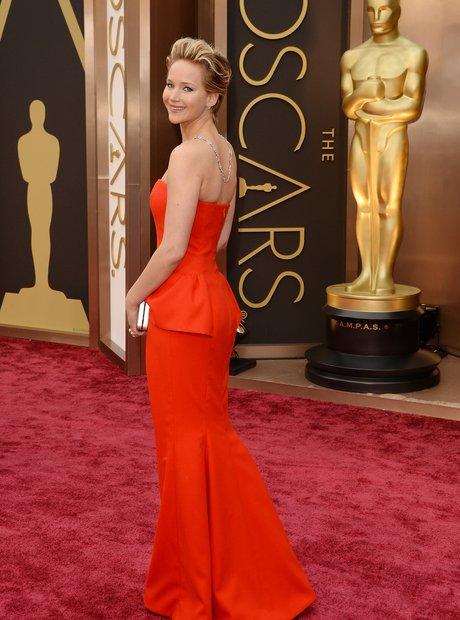 Jennifer Lawrence at the Oscars 2014