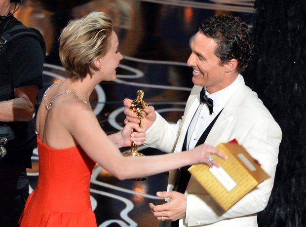Matthew McConaughey Oscars 2014