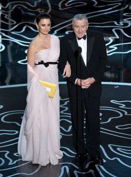Penelope Cruz and Robert De Niro Oscars 2014