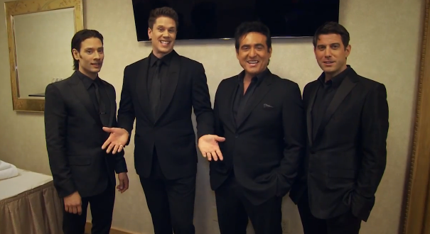 Il Divo surprise a fan video