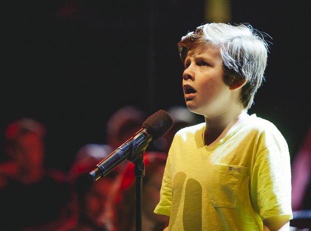 Jack Topper Classic FM Live 2014 rehearsals