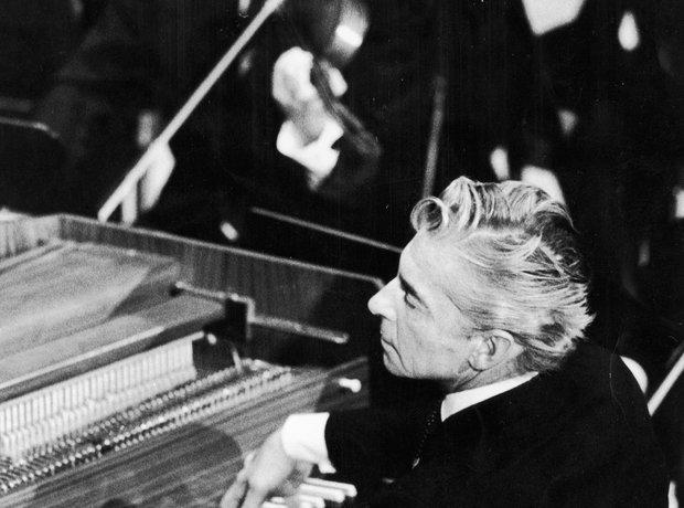 Herbert von Karajan conductor pianist
