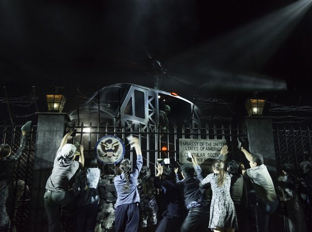 Miss Saigon London 2014 helicopter