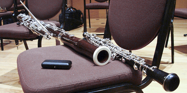 bassoon and oboe