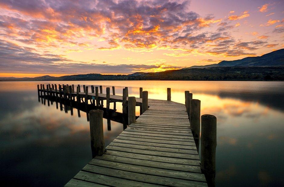 Coniston Water Sunset