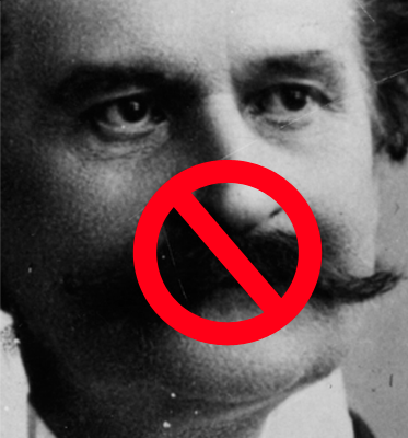 strauss moustache