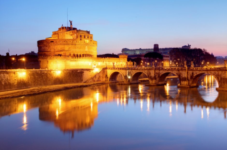 Rome city musical venues Castello St Angelo Tosca