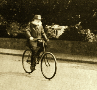 Ernest Chausson bike bicycle French composer
