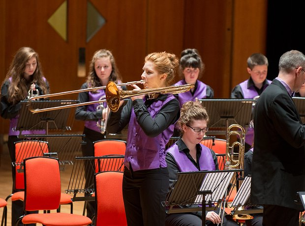 Haslingden High School Brass Band
