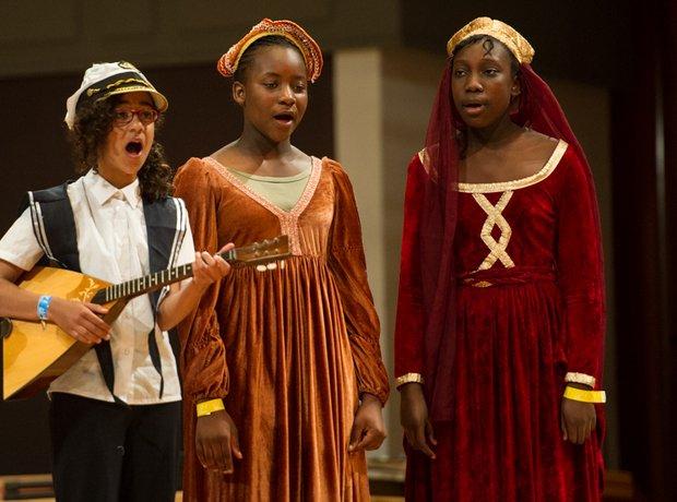New Bradwell School Choir