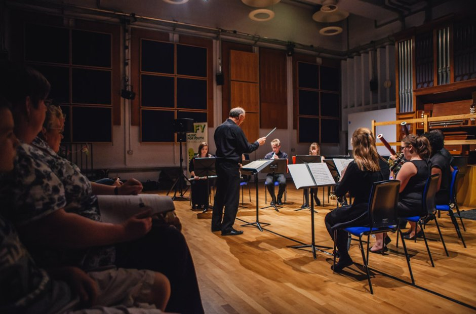 North Befordshire Youth Chamber Orchestra Wind Dec