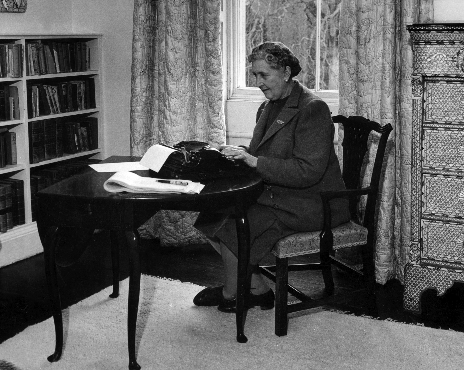 Agatha Christie Queen of Crime novelist