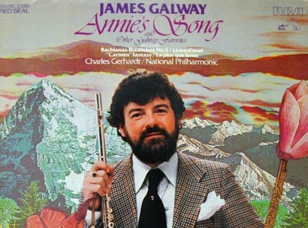 James Galway Annie's Song album flute flautist