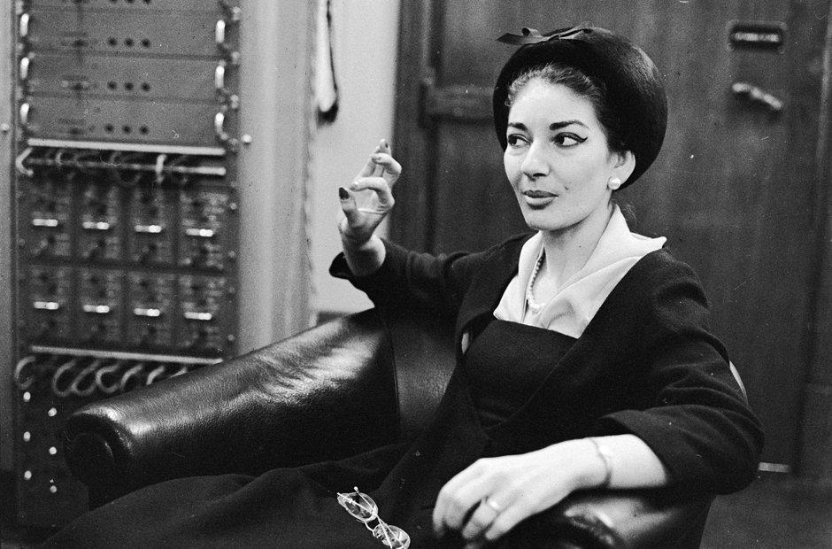 Maria Callas iconic pictures