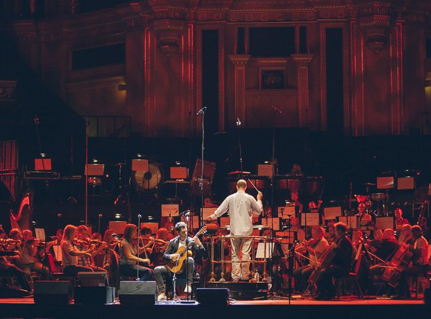 Classic FM live during rehearsals