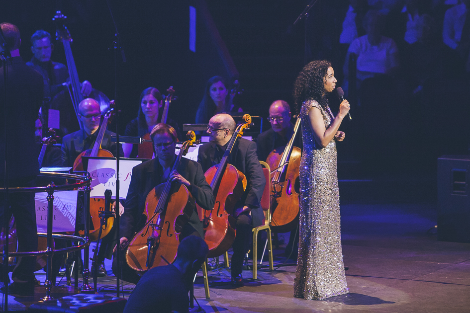Margherita Taylor at Classic FM Live 2014