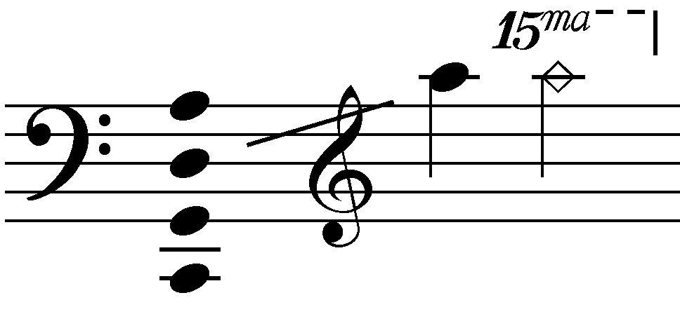 Cello range notes