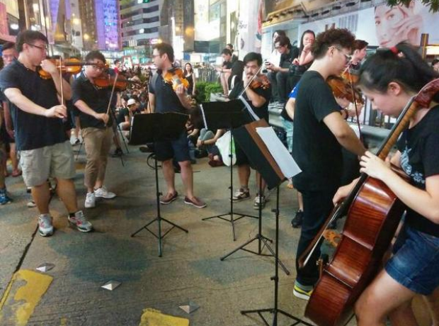 Occupy Central Movement in Hong Kong