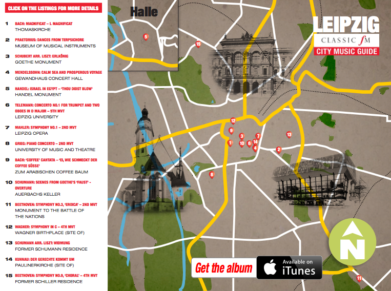 Leipzig musical map a guide to the citys best destinations