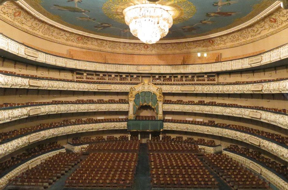 Mariinsky interior St Petersburg auditorium