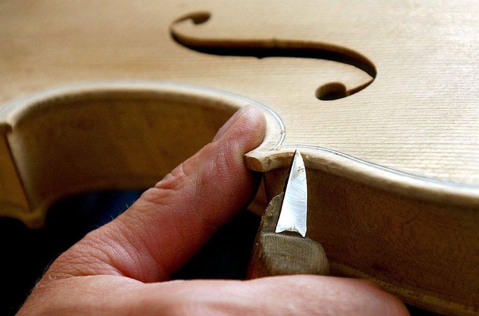 Violin Making - purfling