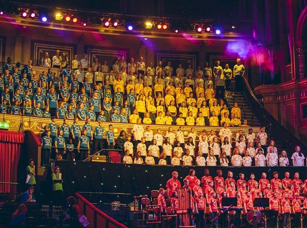 GMH Massed Ensemble