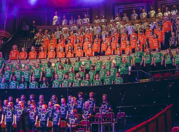 Greater Manchester Music Hub Massed Ensemble Perfo