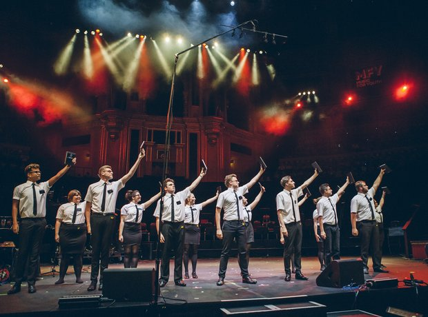 Haven High Academy 6th Form Choir Performance School Proms 2014