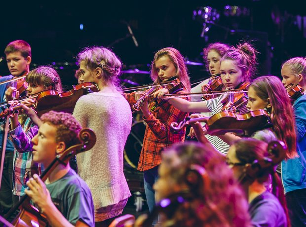Schools Prom Monday 10th 2014 truro youth orchestr