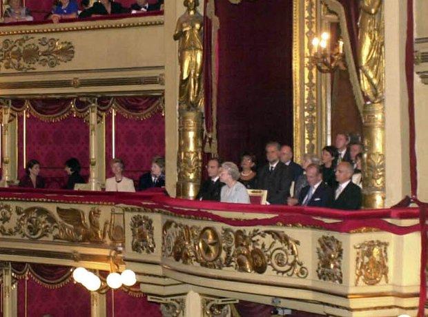 La Scala Milan Queen Prince Philip