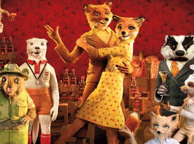Fantastic Mr Fox Wes Anderson
