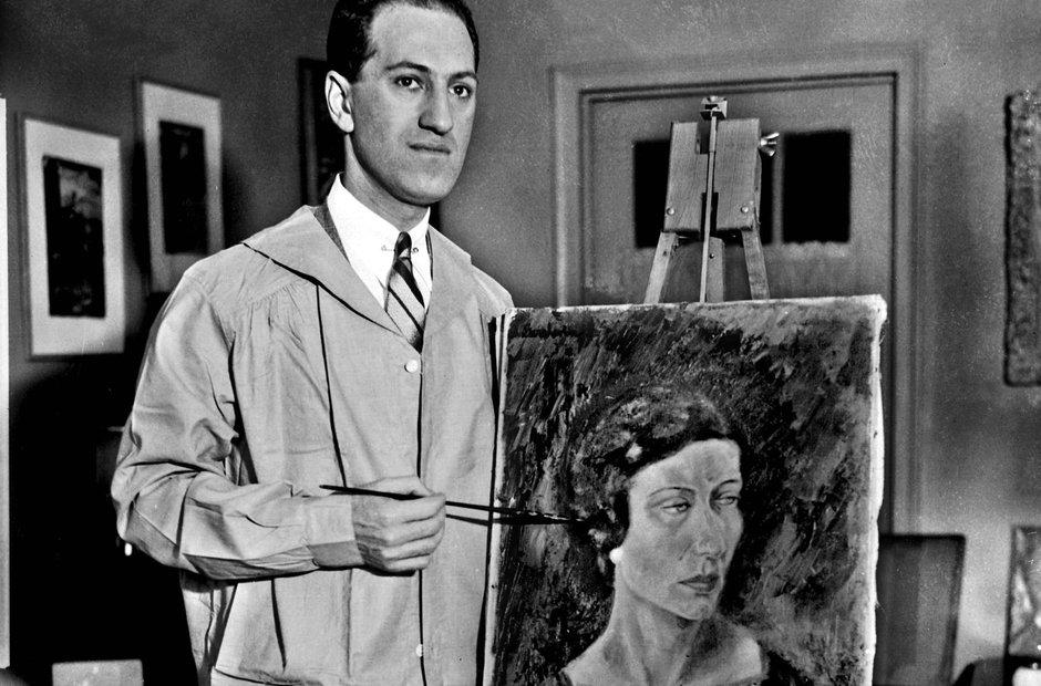George Gershwin painting