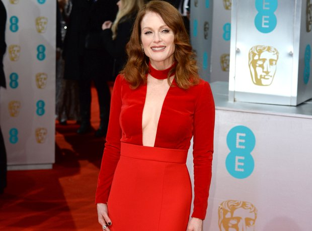 Julianne Moore at the Bafta Awards 2015