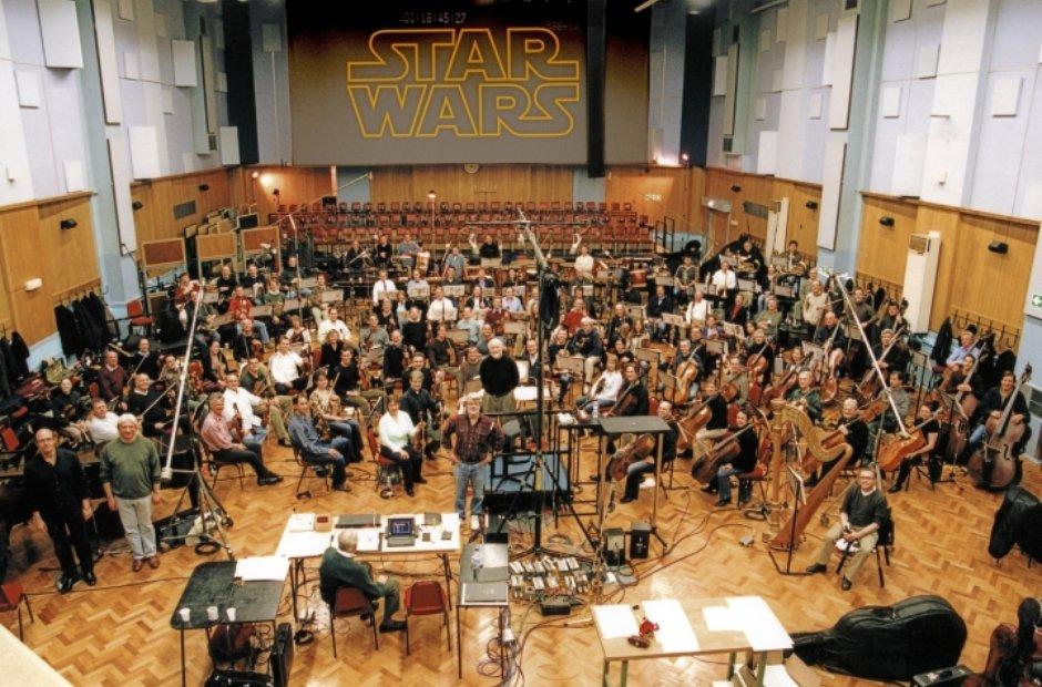 Star Wars recording John Williams LSO