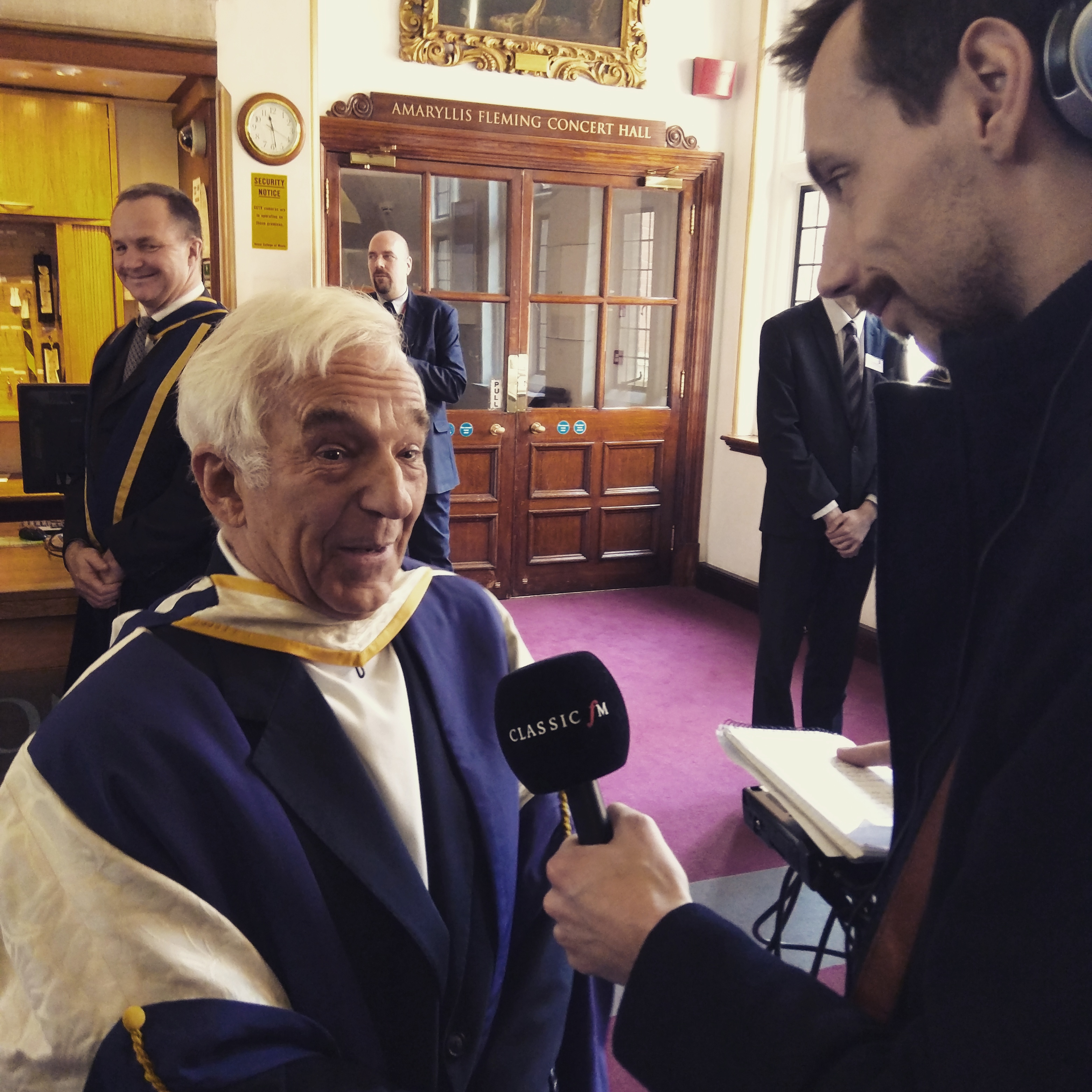 Vladimir Ashkenazy at the Royal College of Music