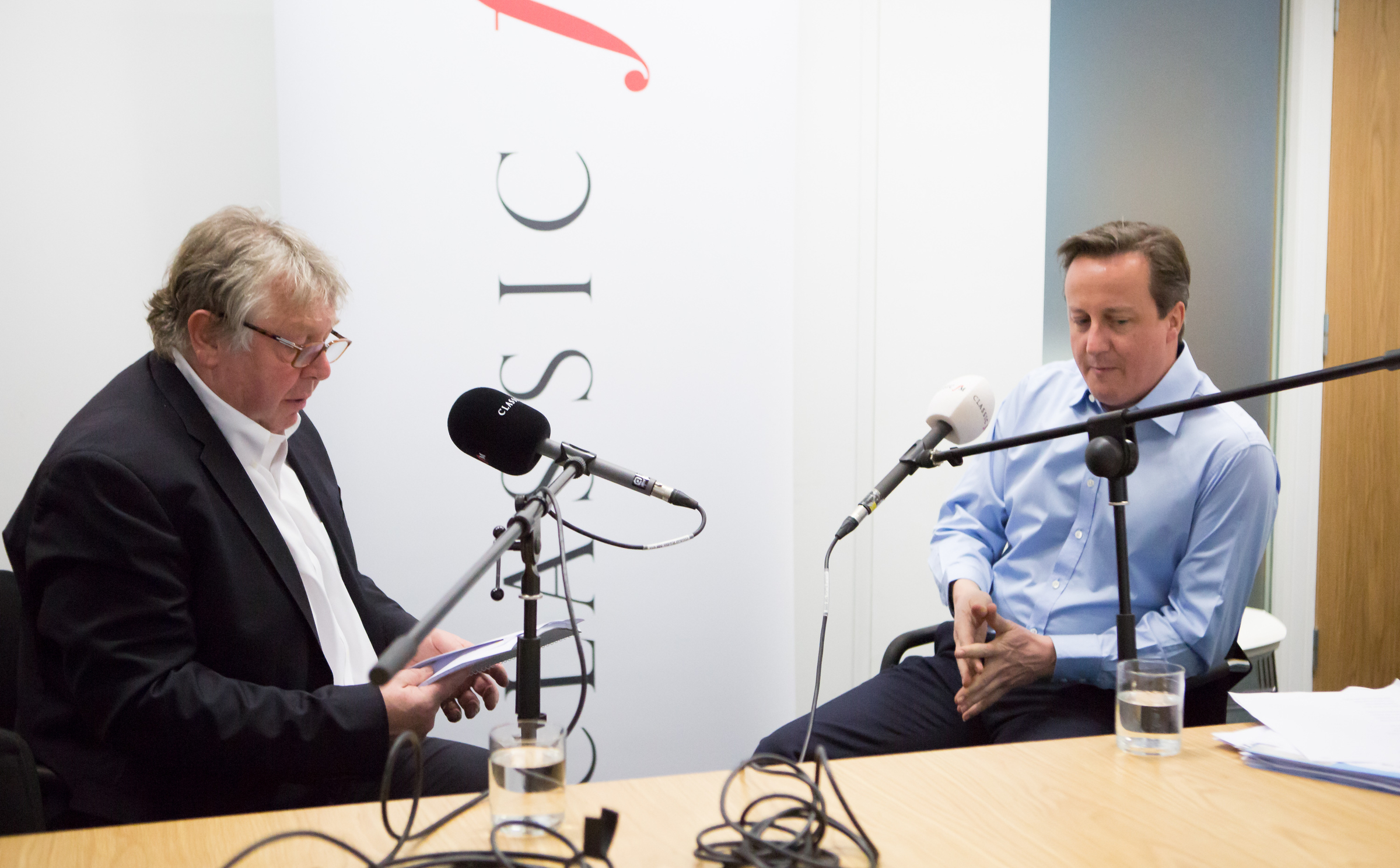 David Cameron and Nick Ferrari