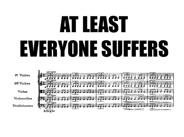 boring 2nd violin parts