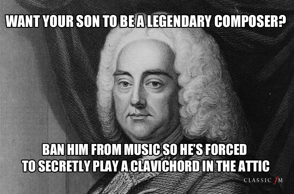 Father's Day advice Handel