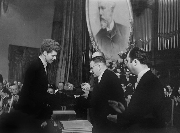 Van Cliburn and Shostakovich