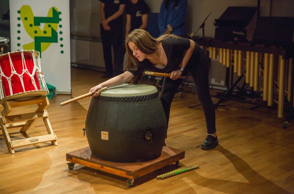 Caerleon Comprehensive School Percussion Ensemble