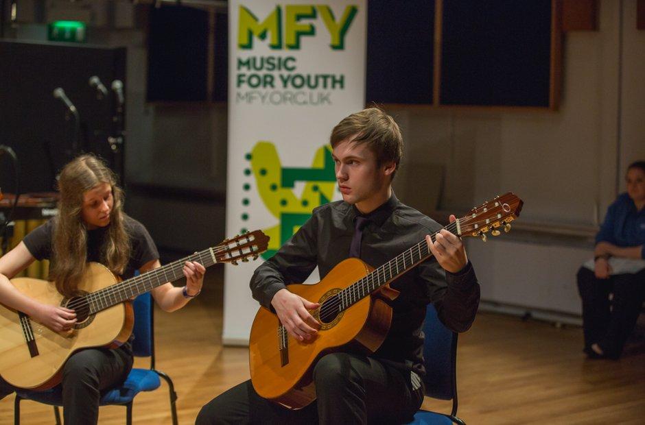 Calderdale Youth Guitar Ensemble