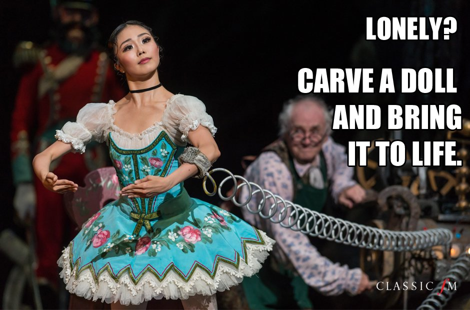 Life lessons from ballet Coppélia